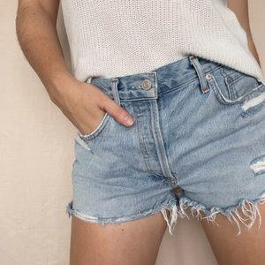 Parker Agolde Denim Shorts